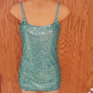 CHARLOTTE RUSSE sequence strappy tank